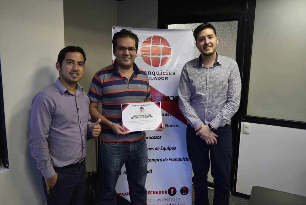 curso capacitación franquicias Ecuador